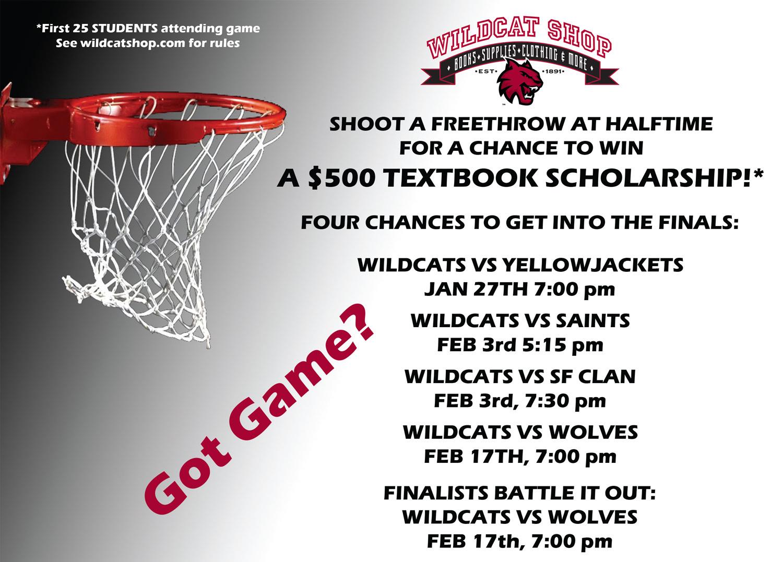 CWU Wildcat Shop Freethrow Promo