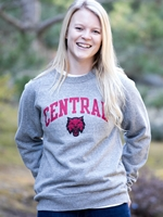 CWU Ladies TriBlend Crewneck Sweatshirt