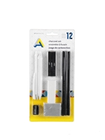 Charcoal Drawing Set 12-Piece