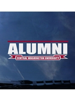 Central Washington Alumni Decal