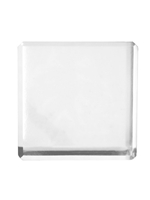 Acrylic Cube Paperweight Clear 2-inches Engravable