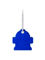 Dog Tag Hydrant Keychain Engravable