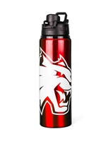Crimson Wildcat Waterbottle