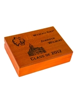 Gift Card Holder Wood Engravable