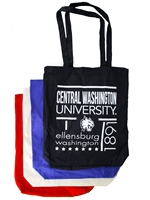 CWU Canvas Grocery Tote