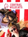 Central Wildcats Beach Towel