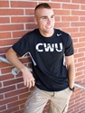Black Nike CWU Performance Tee