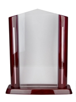 Acrylic Cathedral Award Engravable