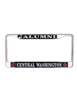 CWU Alumni License Plate Frame