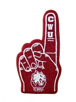 CWU Mini Foam Finger