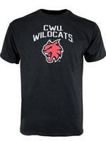 Central Wildcats Youth Black Tshirt