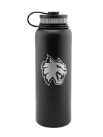 40oz CWU Black Insulated Waterbottle