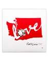Love Central Washington Canvas Print 12x12