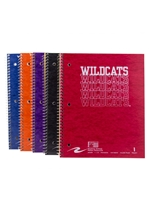 1 Subject Wildcats Spiral