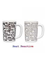 Out Of Print Banned Books Heat Reactive Mug