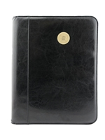 CWU Bronze Medallion Zipper Padfolio