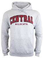 Central Tackle Twill Grey Hood
