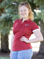 Ladies Nike Polo Crimson