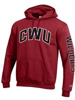 Crimson Hood Arched CWU