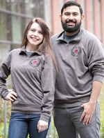 Charcoal Central Wildcat Alumni 1/4 Zip