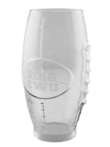 Football Glass Engravable