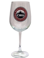 CWU Large Wine Glass