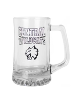 Glass Central Wildcats Stein