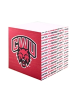 CWU POST-IT NOTE CUBE