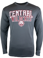 Central Wildcats Long Sleeve Tshirt