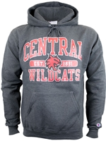 Central Wildcats Graphite Hood