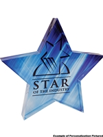 Sub Acrylic Star Award (Customizable)