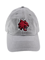 Gray Hat with Wildcat Logo