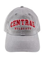 Gray CENTRAL Hat