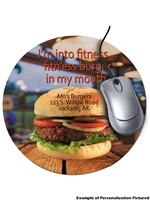 "Mouse Pad 8"" Round Customizable"