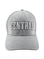 Gray CENTRAL Mesh Stretch Fit Hat