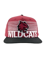 Crimson WILDCATS Snapback Hat