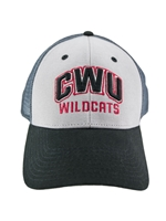Gray Mesh CWU WILDCATS Hat