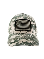 Camo US Flag Hat