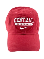 Crimson Nike CENTRAL Volleyball Hat