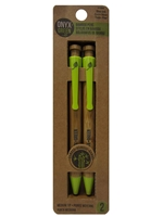 Onyx Green Bamboo Pens
