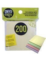 Onyx Green Self-Adhesive Sticky Notes