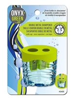 Onyx Green Recycled Double Sharpener