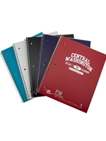 Central Washington University 1-Subject Spiral Notebook