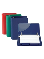 Index Card Binder Assorted