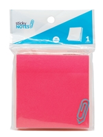 3x3 Neon Pink Sticky Notes