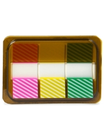 Striped Sticky Page Markers