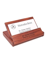 Rosewood Card Holder (Customizable)