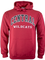 Central Know Wear Crimson Hood
