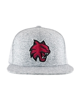 CWU Flat Bill Static Grey Hat