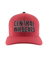 Nike Crimson & White Central Wildcats Hat